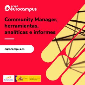 curso online de community manager, herramientas analiticas e informes