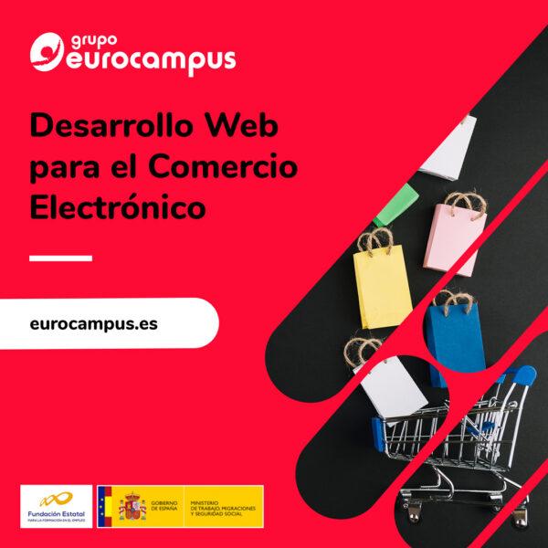 Curso online de desarrollo web para comercio electronico