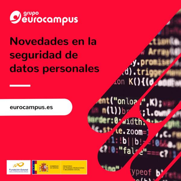 curso online de novedades en la seguridad de datos personales