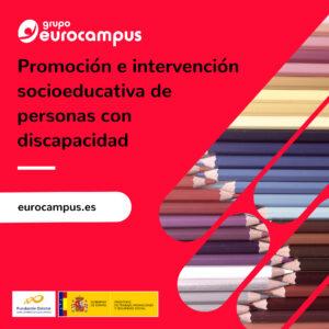 Curso online de promocion e intervencion socioeducativa de personas con discapacidad