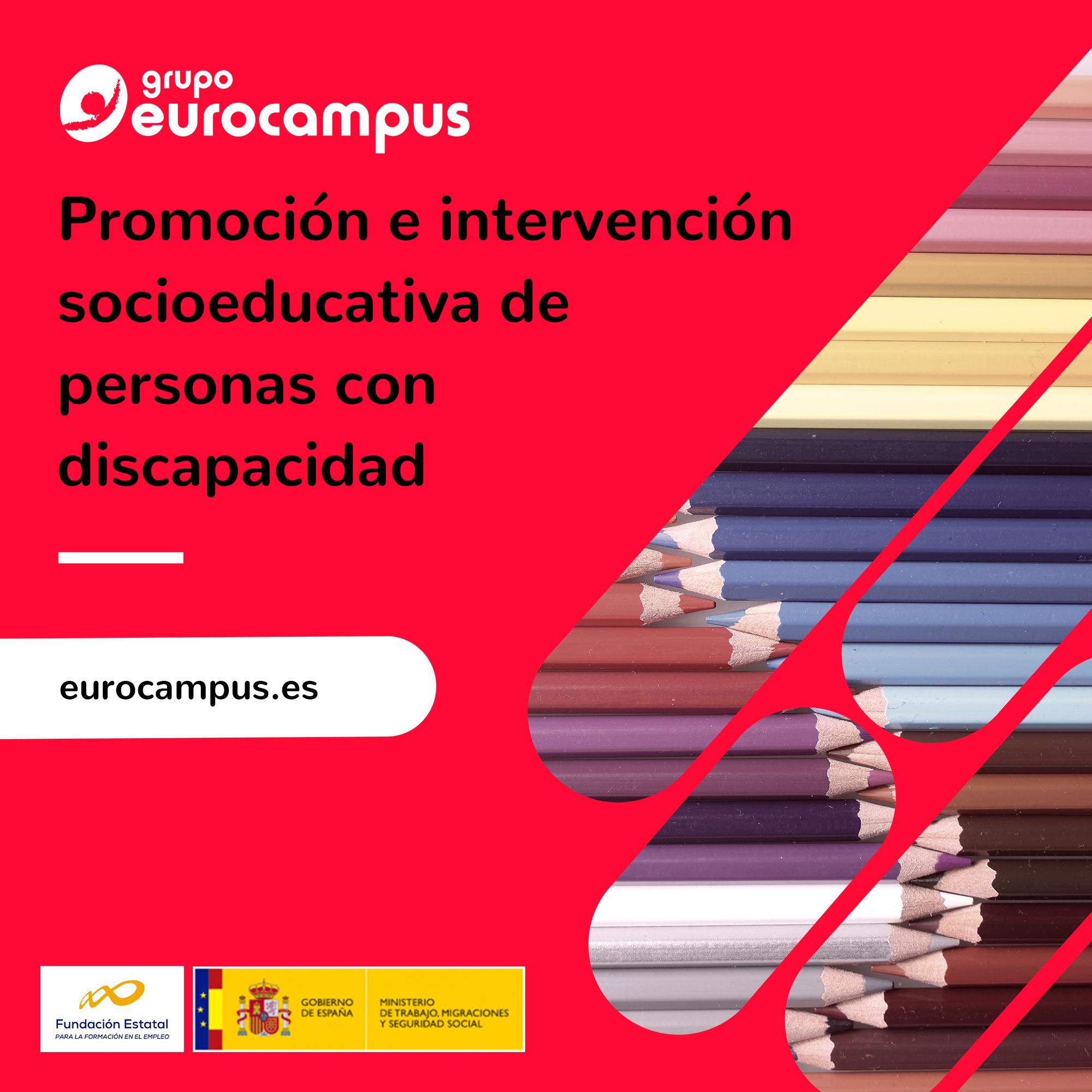 Promoción E Intervención Socioeducativa De Personas Con Discapacidad